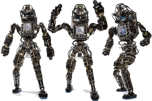 Alphabet vende la división de robots, Boston Dynamics
