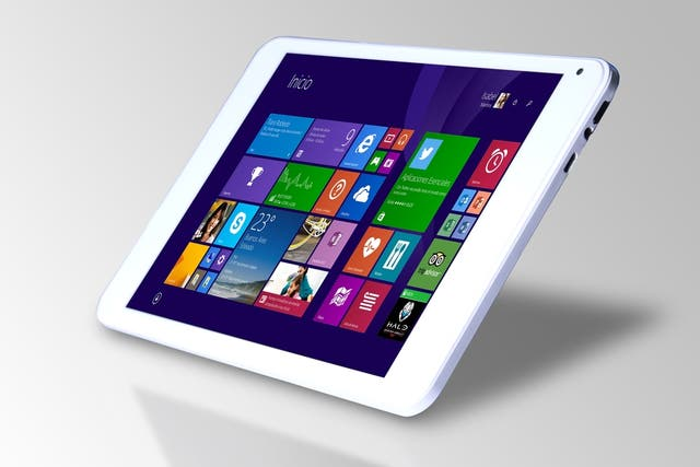 Boris T811W es una tableta con pantalla de 8 pulgadas y Windows 8.1