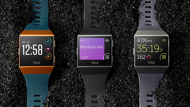 Las correas del Fitbit Ionic son intercambiables y el cuadrante digital se puede personalizar a medida