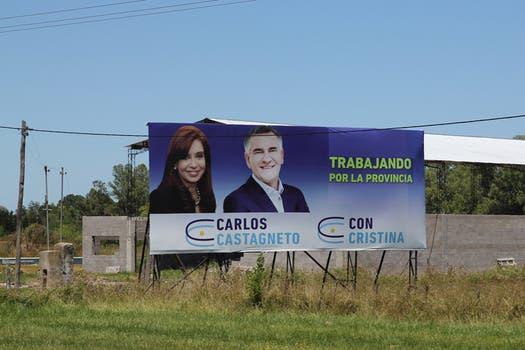 El segundo de Alicia Kirchner en el Ministerio de Desarrollo Social de la Nación, Carlos Castagneto, otro kirchnerista con presencia en la ruta 2. Foto: LA NACION / Matías Aimar