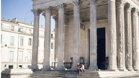 Conocida como la Casa Cuadrada, un templo que se conserva desde antes de Cristo