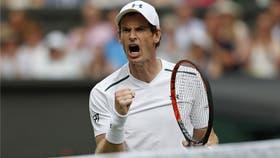 Murray debutó con una victoria en Wimbledon