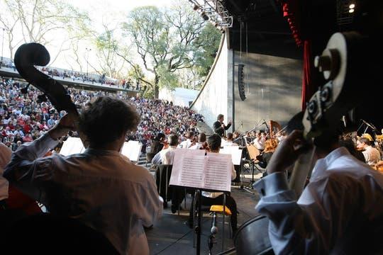 Tocaron varias piezas clásicas  el Bolero de Ravel y la Mascarada, entre otras. Foto: LA NACION / Mariana Araujo