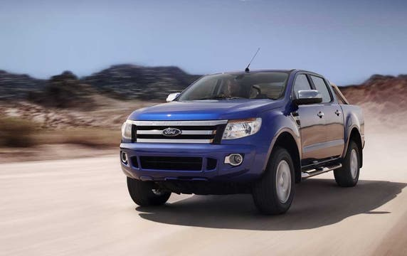 Una de las novedades más esperadas. La nueva pickup Ford Ranger que se fabrica en la Argentina y se exportará a la región.