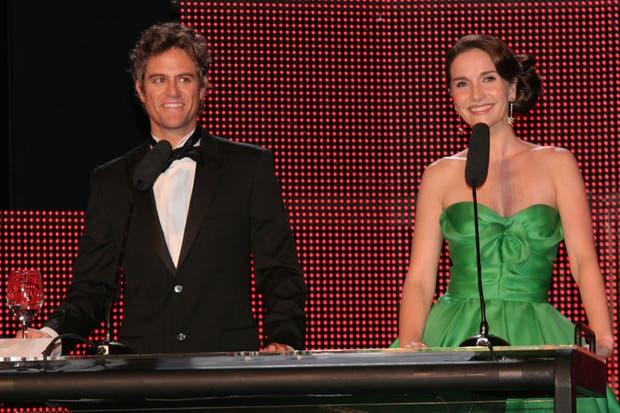 El año pasado, Mike Amigorena y Natalia Oreiro fueron los conductores del Martín Fierro