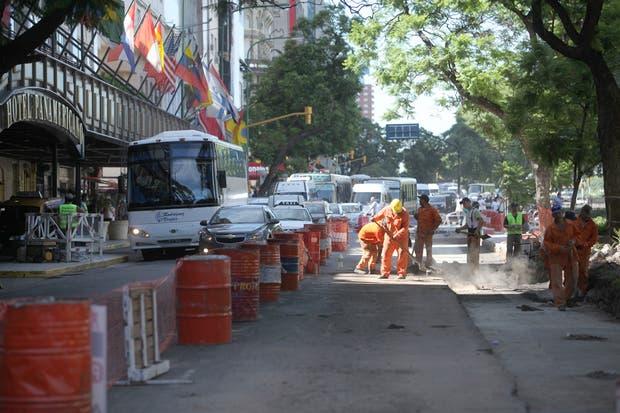 Las obras del Metrobus ya comenzaron en Cerrito y Lavalle