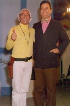 Olmedo y La Russa fueron compañeros en varios ciclos de  Gerardo Sofovich. Foto: Archivo La Nación