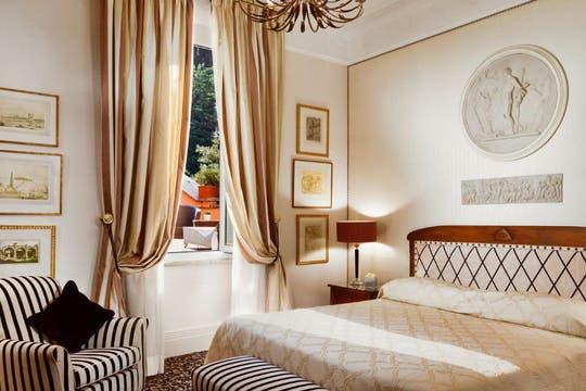 La suite presidencial tiene un costo de 2180 euros por día. Foto: Hotel Eden