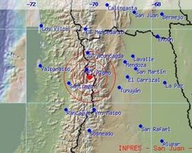 Un sismo de 6.2 grados en San Luis hizo temblar a la zona de Cuyo