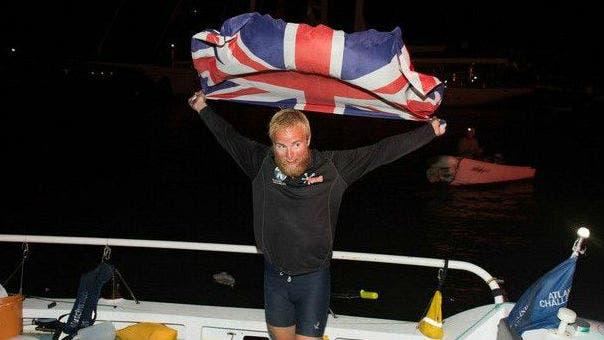 El joven relató que lo más duro fue navegar en los momentos en que el viento estaba en su contra: