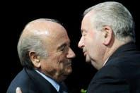"Blatter elogió a Julio Grondona, a quien calificó como ""un hombre práctico"""
