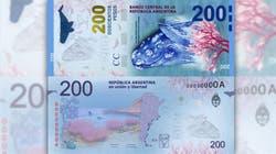 Presentaron hoy el nuevo billete de 200 pesos en Puerto Madryn