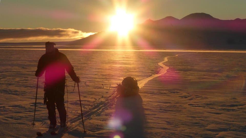 Recorrieron 750 kilómetros en total, 200 fueron de trekking