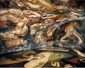 Homenaje a un sobreviviente la nacion for El mural de siqueiros en argentina