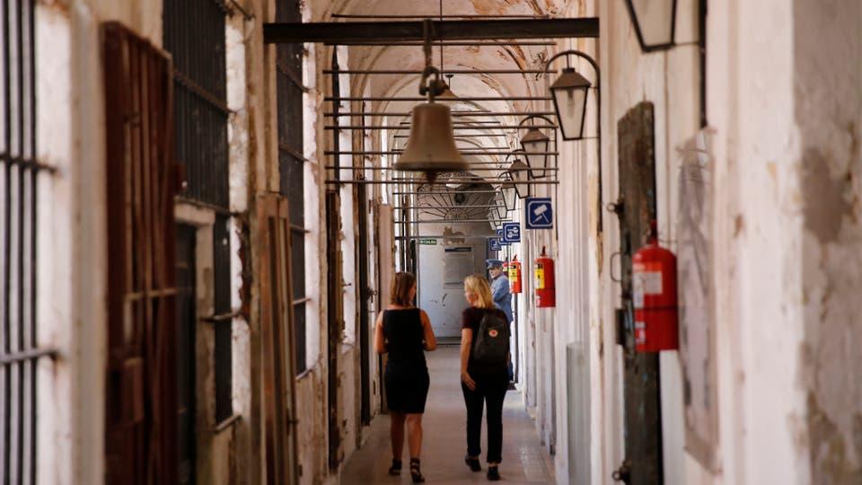 Fue sucesivamente convento de monjas, asilo de enfermas mentales y correccional . Foto: LA NACION / Fernando Massobrio