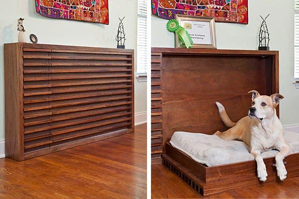 Objetos locos camas para mascotas revista ohlal for Mueble que se convierte en cama