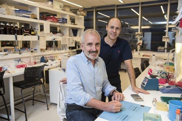Alberto Kornblihtt, investigador del Conicet, y Héctor Uretti, de FAME