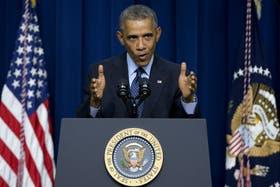 El presidente Barack Obama defendió su discurso ante sus pares del mundo en la ONU y destacó el rol de sus país en las crisis internacionales