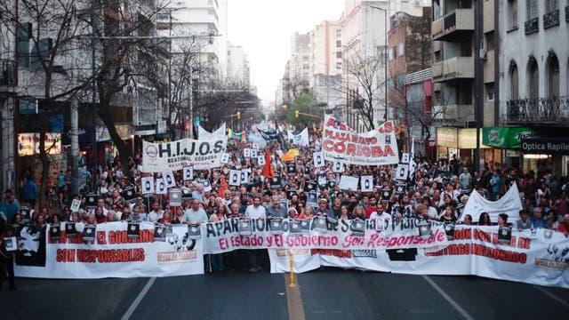 Marcha por Santiago Maldonado en Córdoba