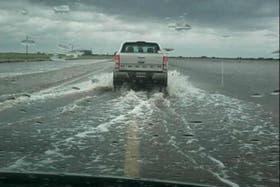 El agua complica todo en Santa Fe