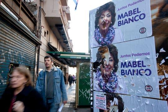 El costo de los afiches registró un fuerte aumento respecto de los comicios de 2011. Foto: LA NACION / Ezequiel Muñoz
