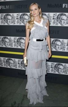 Diane Kruger asistió al homenaje a Quentin Tarantino en el MOMA, de Nueva York ¿Qué opinan de su outfit?. Foto: Reuters