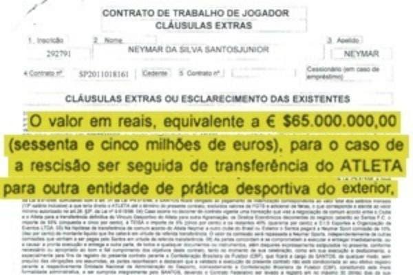 El vínculo fue revelado por UOL Esporte, con el detalle de las principales cláusulas