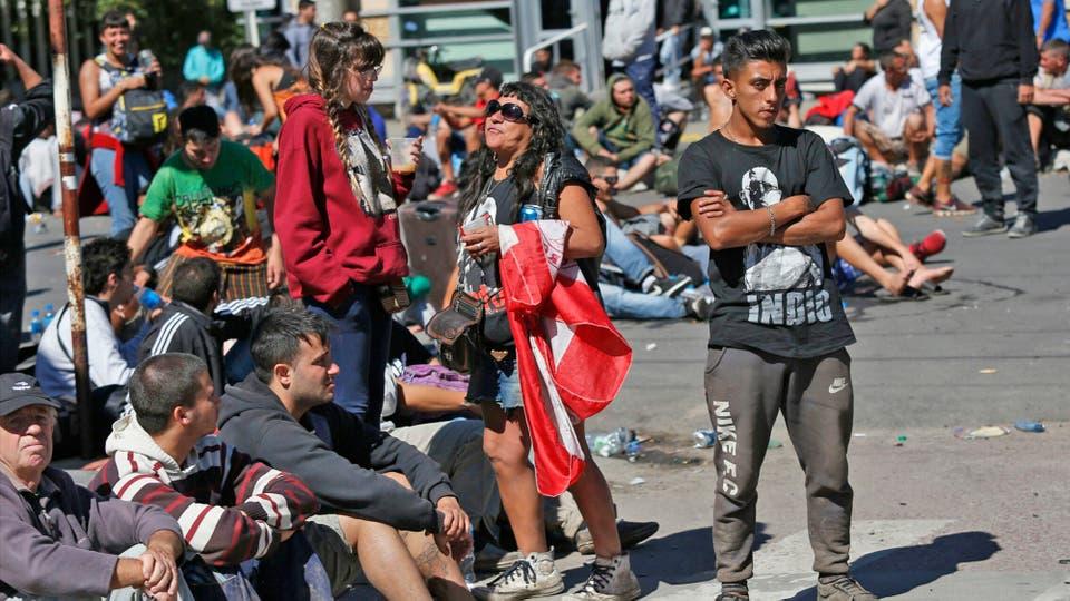 No hay donde comprara algo para tomar o para comer. Foto: LA NACION / Mauro V. Rizzi / Enviado especial