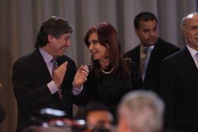 Boudou, la Presidenta y Lorenzetti celebran el proyecto de reforma