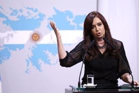 Cristina Kirchner encabezará el acto oficial en Chubut