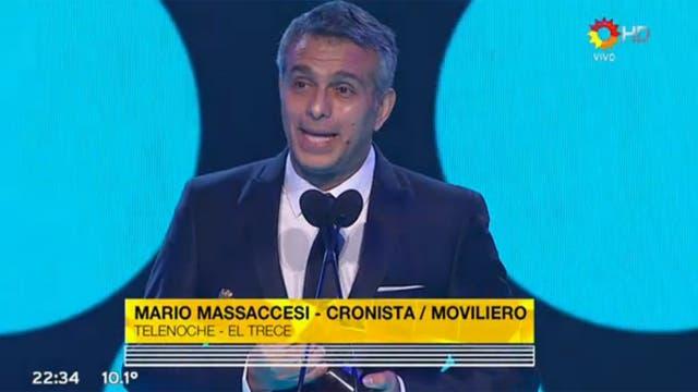 Mario Massaccesi, solidario con los periodistas que perdieron su trabajo en los últimos meses