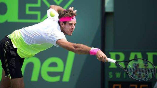 Del Potro y Federer acaparan toda la atención en Miami