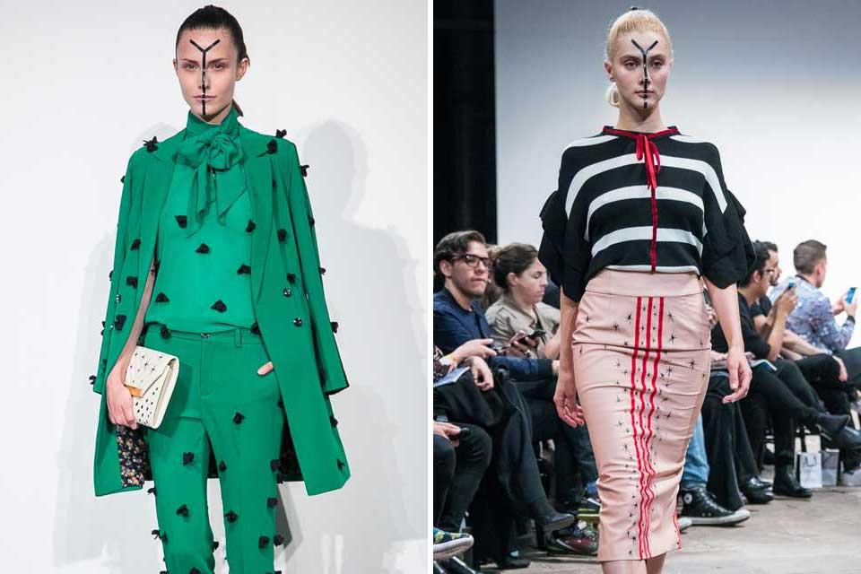 Raquel Orozco abundó en detalles para cada una de sus prendas ¿Estos lazos y pompones te agradan?. Foto: gentileza Prensa