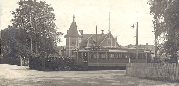 Una residencia de ancianos en Ramlosa Brunn para 1958