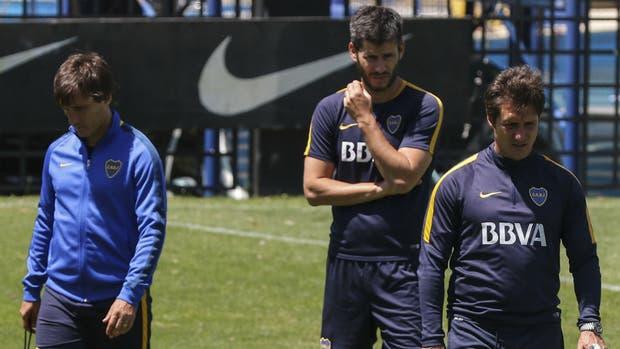 Los Barros Schelotto trabajarán, como es costumbre desde que eran entrenadores en Lanús, en el predio de la AFA en Ezeiza y luego en Mar del Plata