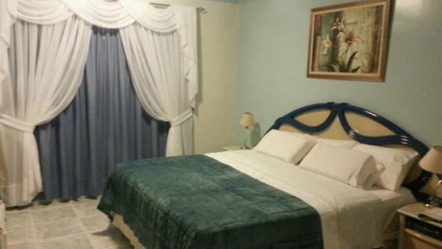 Una de las habitaciones del Resort