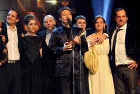 Adrián Suar, habitual protagonista de los premios