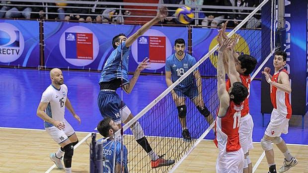 Argentina venció al local Chile
