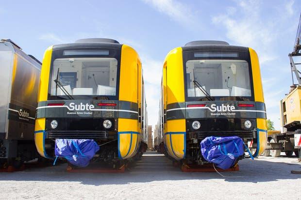 Los nuevos coches de la línea A