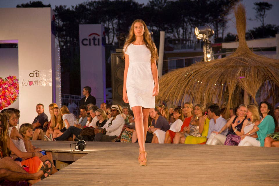 Un desfile para mostrar las colecciones resorts de algunos de los diseñadores contemporáneos más destacados, entre ellos, Custo Barcelona. Foto: /Alejandro Di Ciocchis