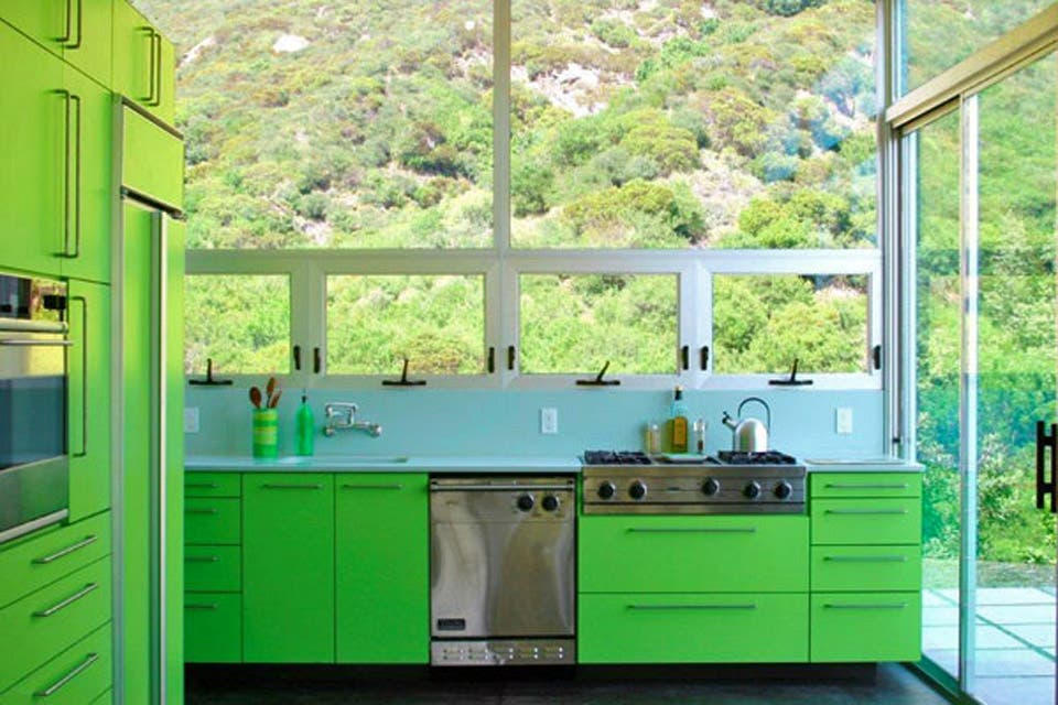 ¡Animate a los tonos fluo en tu cocina!