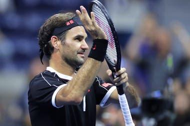 Roger Federer venció a Sumit Nagal en el US Open