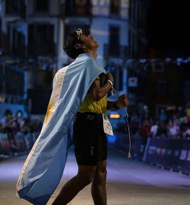 Rueda también fue campeón nacional de trail este año