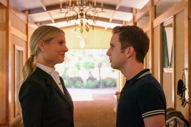 Gwyneth Paltrow y Ben Platt en una escena de The Politician