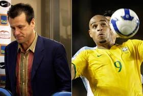 Dunga se va, tras dar la lista: llamó a Adriano, un especialista en convertirle a la Argentina