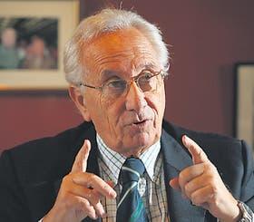 El diputado kirchnerista Héctor Recalde defendió el proyecto de ley
