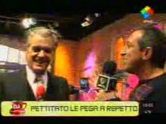 Pettinato también se tiró contra Repetto (Television.com.ar)