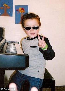 Thomas, a los 8 años