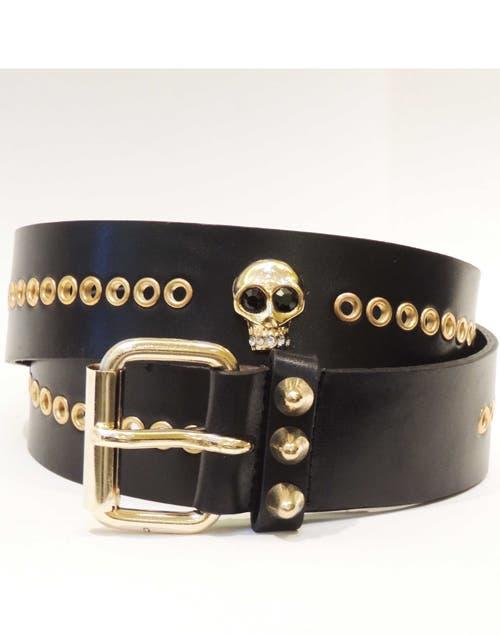 Cinturón de calavera ($400, Justa Osadía).