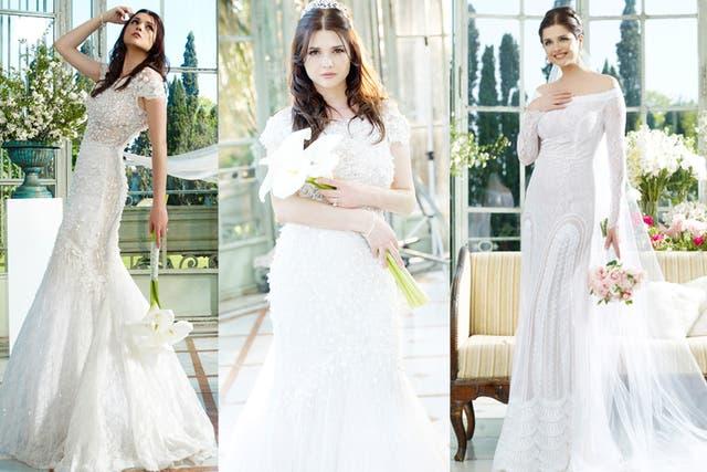 ¿Qué vestido le queda mejor? Ustedes, ¿cuál le recomendaría a Araceli?